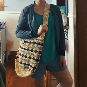 Handbags - Woven boho bag